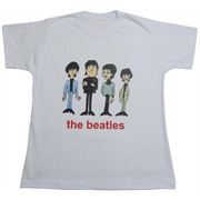 Baby look Beatles - Caricaturas