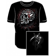 Camiseta Caveira Tribal - Metal Skull