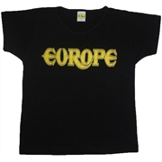 Baby look Europe (Logo dourado)