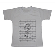 Camiseta Infantil Pink Floyd - The Wall