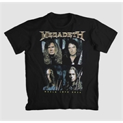 Camiseta Megadeth - World Tour 2016