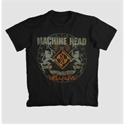 Camiseta Machine Head - Hellalive