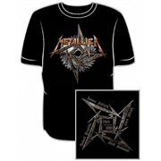 Camiseta Metallica - Steel