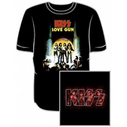 Camiseta Kiss - Love Gun