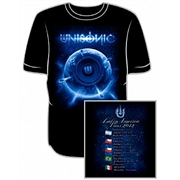 Camiseta Unisonic - Latin America Tour 2012
