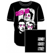 Camiseta Green Day - Uno, Dos, Tré!