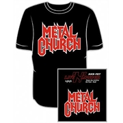 Camiseta Metal Church - Sao Paulo 2013