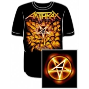 Camiseta Anthrax - Worship Music