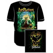 Camiseta Destruction - Spiritual Genocine