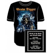 Camiseta Grave Digger - Clash of the Gods