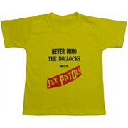 Camiseta Infantil Sex Pistols - Necer Mind The Bollocks
