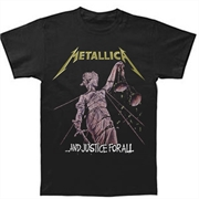 Camiseta Infantil Metallica - And Justice For All