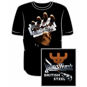 Camiseta Judas Priest - British Steel