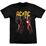 Camiseta ACDC - Iron Man