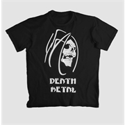 Camiseta Death Metal Skull