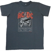 Camiseta Infantil ACDC - For Those About to Rock