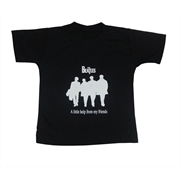 Camiseta Infantil Beatles - A Little Help From My Friends