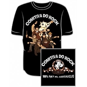 Camiseta Comitiva do Rock
